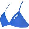 arena Solid Tie Back Bikini Kobiety niebieski